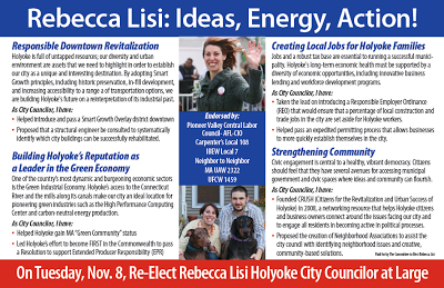Rebecca Lisi: Ideas, Energy, Action!